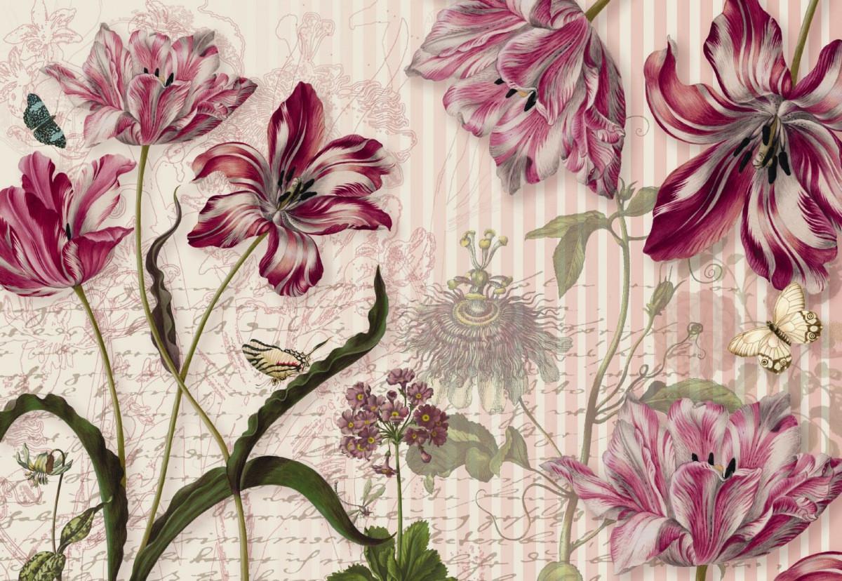 драгоценный фотообои элитные цветы внимание, что летом