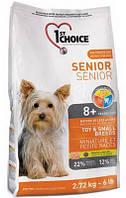 Корм для пожилых собак мини-пород 1st Choice Senior Mini and Small Breed