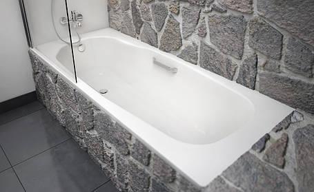 Ванна стальная BLB Atlantica B80A 180x80 с алюминиевыми ручками, фото 2