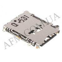Держатель SIM- карты для Samsung A300/  A500/  A700,   белый,   комплект 2 шт