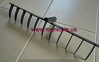 Грабли сварные плоскозубые 480 мм