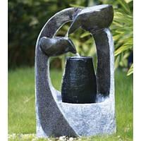 Фонтан декоративный Engard Каменная абстракция 54х29х82,5 см