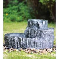 Фонтан декоративный Engard Каменный пень 48х33,5х85,5 см