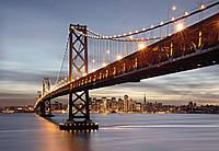 Фотообои бумажные на стену 368х254 см 8 листов: Мост Сан-Франциско. Komar 8-733