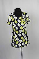 Платье штапель с застежкой на спине размеры 98-116см