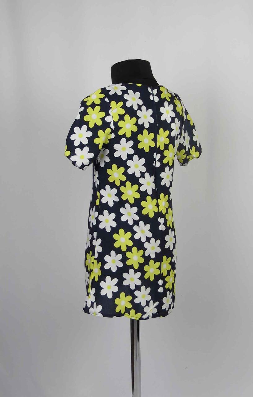 Платье штапель с застежкой на спине размеры 98-116см, фото 2