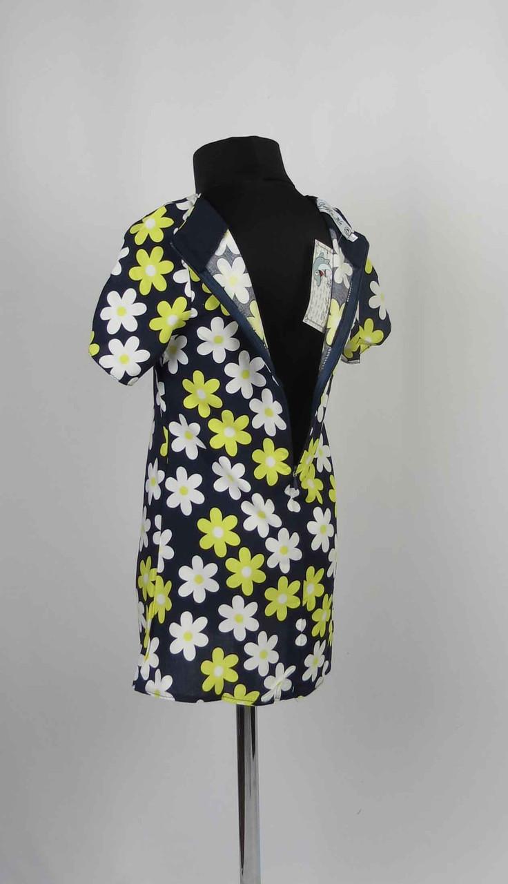 Платье штапель с застежкой на спине размеры 98-116см, фото 3