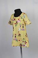 Платье  с застежкой на спине размеры (крепшифон) 98-116см