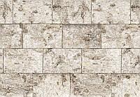 Фотообои бумажные на стену 368х254 см 8 листов: Светлые блоки. Komar 8-740