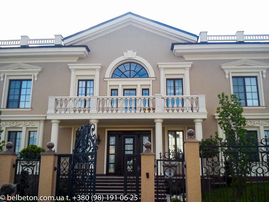 Балясины из бетона Харьков   Балюстрада в Харьковской области 16