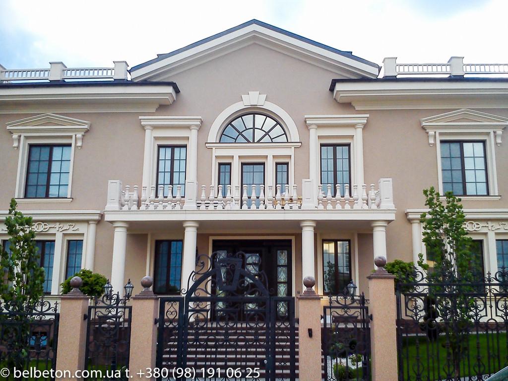 Балясины из бетона Харьков   Балюстрада в Харьковской области 17