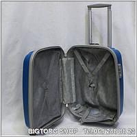 Валіза дорожня на колесах Eminsa 8075S, синя / Чемодан дорожный на колесиках Эминса (Емінса) 8075S, синий