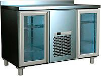 Стол холодильный со стеклянными дверями 2GNG/NT Carboma