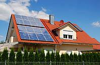 Однофазная гибридная солнечная электростанция 3кВт под ЗЕЛЕНЫЙ ТАРИФ, фото 1