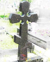 Православный крест на могилу № 2