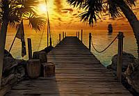 Фотообои бумажные на стену 368х254 см 8 листов: Остров сокровищ. Komar 8-918