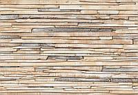 Фотообои бумажные на стену 368х254 см 8 листов: Деревяные доски. Komar 8-920