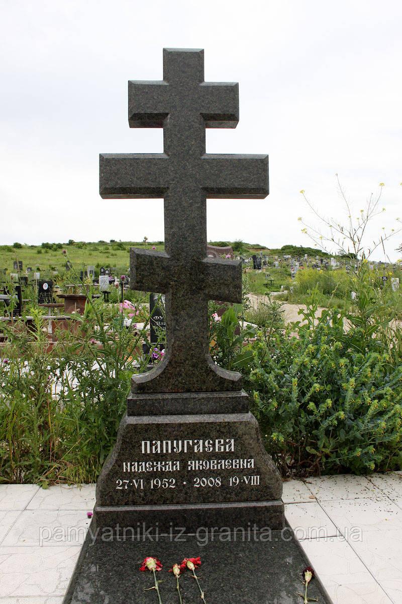 Православный крест на могилу № 7