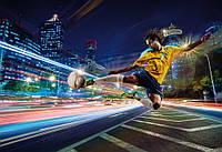 Фотообои бумажные на стену 368х254 см 8 листов: Уличный футбол. Komar 8-953