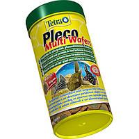 Tetra Pleco Multi Wafers Полноценный корм для всех крупных растительноядных донных рыб