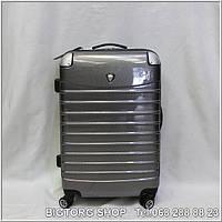Валіза дорожня на колесах Eminsa ET230-M, сіра / Чемодан дорожный на колесиках Эминса (Емінса) ET230-M, серый