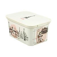 Декоративный ящик для хранения Curver Decos Miss Paris S