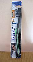 Freshly Remove Smoke Stains Toothbrush for Men Зубная щетка для мужчин для удаления никотиновых пятен RBA /55