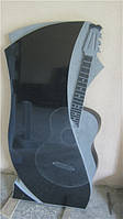 Памятник с изображением гитары №1