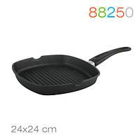 Сковорода-гриль Grill 24/24 см. Granchio 88250