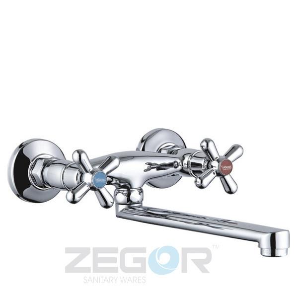 Смеситель настенный Zegor T43-TMK-A725