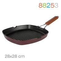 Сковорода-гриль Grill 28/28 см. Granchio 88253