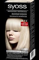 Syoss Coloration 10-1 Platinperlmuttblond - Краска для волос оттенок 10-1 перламутровый блонд, 1 шт.