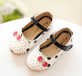 Туфли для девочки с Китти