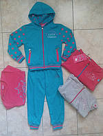 Спортивный костюм тройка на девочку 4-12 лет Польша, фото 1