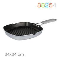 Сковорода-гриль Grill 24/24 см. Granchio 88254