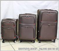 Валіза дорожня на колесах Eminsa 8072S, коричнева / Чемодан дорожный Эминса (Емінса) 8072S, коричневый