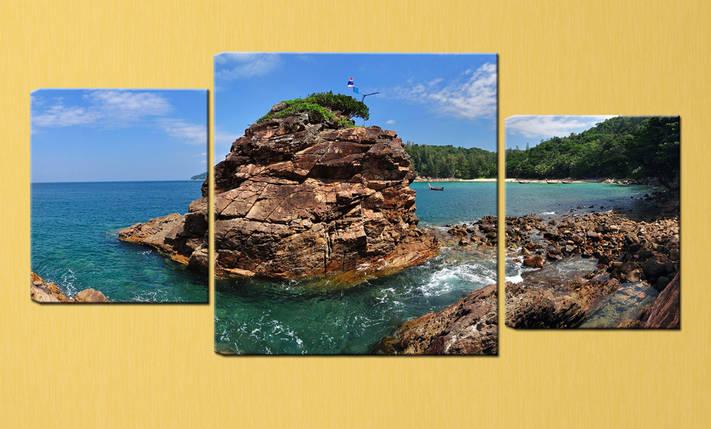 "Модульная картина ""Таиланд, побережье"", фото 2"