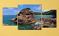 "Модульная картина ""Таиланд, побережье"""