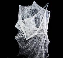 🔥 Хэллоуин! Декоративная мягкая Паутина 100х150 см с двумя пауками