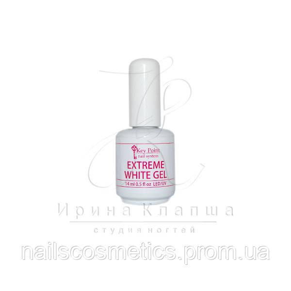 Extreme white gel (белый гель с кисточкой)
