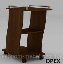 Высокий сервировочный столик Вена на колесиках