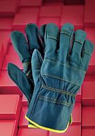 Защитные перчатки RLCS. Перчатки спилковые оптом, фото 1