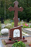 Православный крест на могилу № 24
