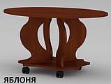 Овальный журнальный столик Венеция из ДСП и МДФ в гостинную, фото 7
