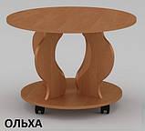 Круглый журнальный столик Ринг ДСП, для зала, фото 4