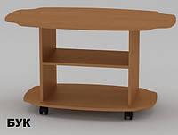 Чайный столик Твист в гостинную, на колесах, фото 1