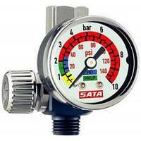 Манометр SATA с регулятором давления