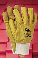 Защитные перчатки RLCSSUN. Перчатки спилковые оптом, фото 1
