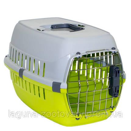 Moderna МОДЕРНУ РОУД-РАННЕР 1 переноска для собак і кішок. з металевої дверима IATA, 51х31х34 см, червоний, фото 2