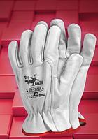 Защитные перчатки RLCSWLUX. Перчатки спилковые оптом, фото 1